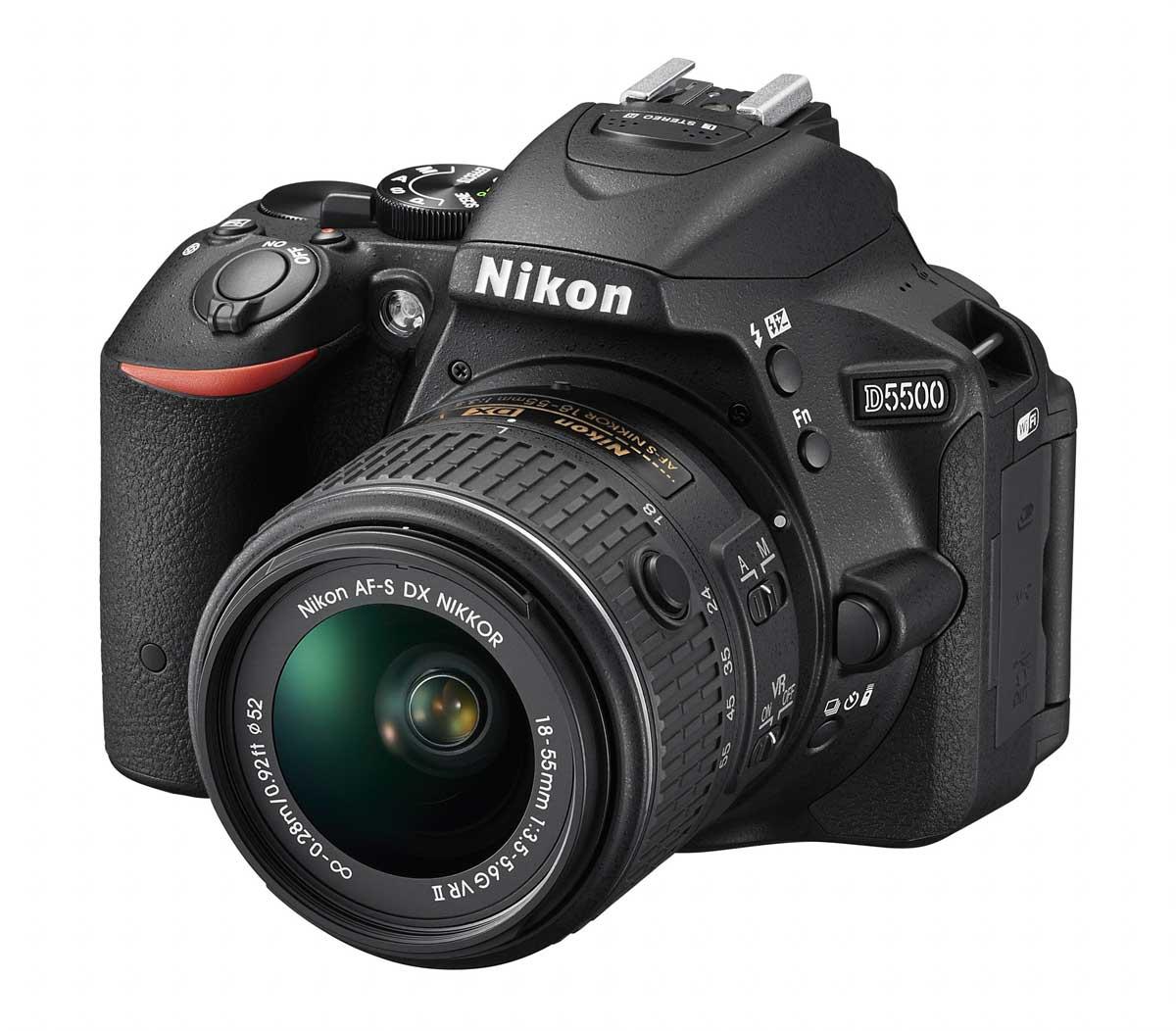 Új Nikon tükörreflexes: Nikon D5500 digitális fényképezőgép