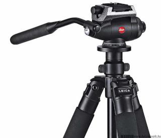 Nagy teleobjektívhez video fej