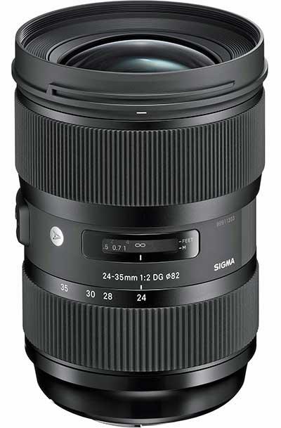 Sigma 24-35 mm F:2 DG HSM Art objektív