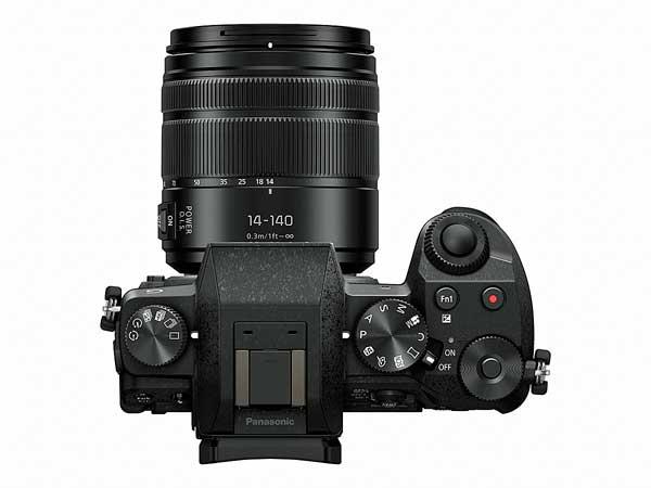 Panasonic Lumix G7 digitális fényképezőgép fentről