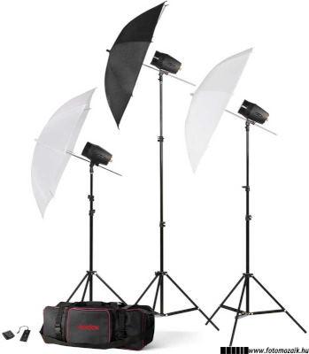 Stúdió vaku vagy műtermi vaku szett állványokkal és ernyőkkel