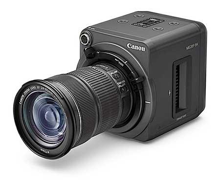 A Canon ME20F-SH videokamera kicsi, de tök sötétben is készít színes videót