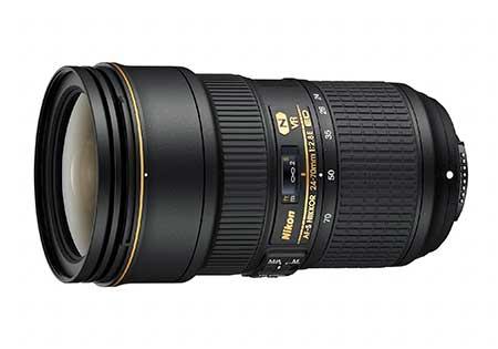 Nikon AF-S Nikkor 24-70 mm f/2,8E ED VR objektív