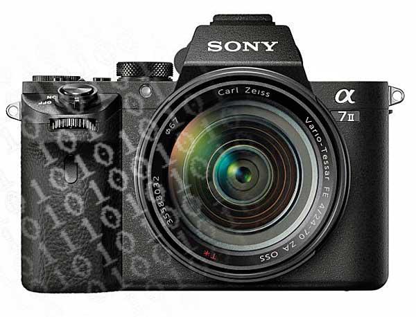 Bitcsere, vagyis szoftverfrissítés a Sony α7 II digitális fényképezőgéphez
