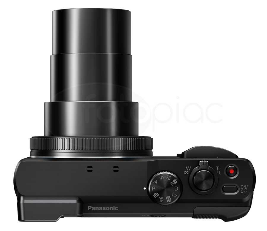 Panasonic Lumix DMC-TZ80 digitális kompakt fényképezőgép felülről