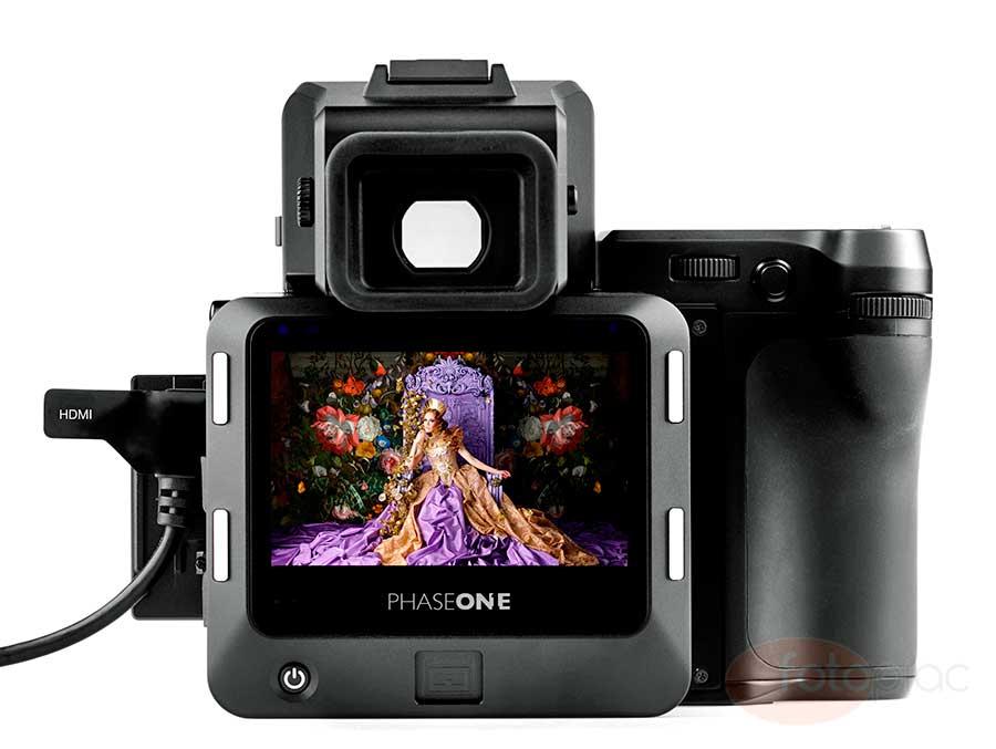 Phase One XF 100MP digitális fényképezőgép rendszer hátfal