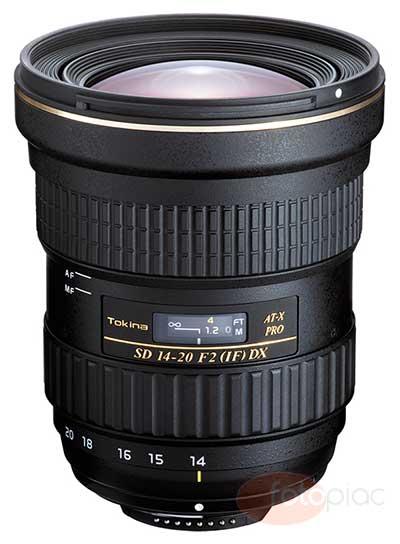 Tokina AT-X14-20 F2 PRO DX objektív