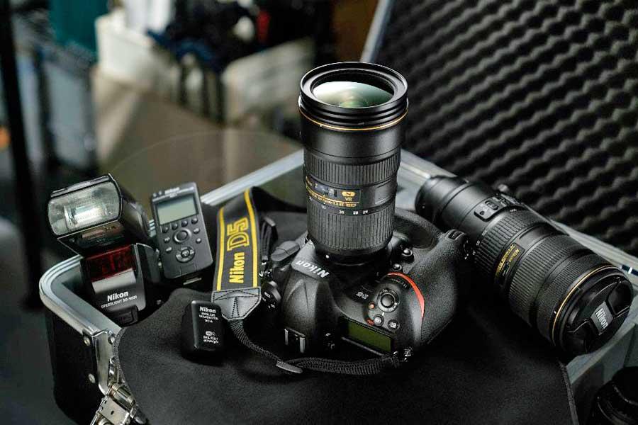 Nikon D5 digitális professzionális DSLR fényképezőgép