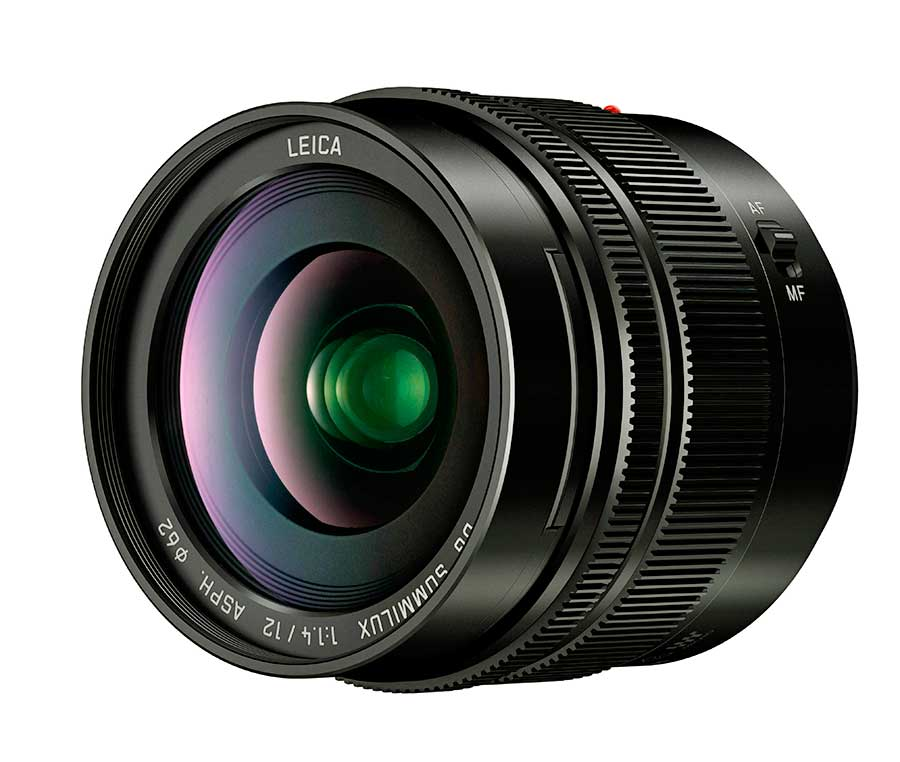 Panasonic Leica DG Summilux 12 mm F:1,4 ASPH objektív