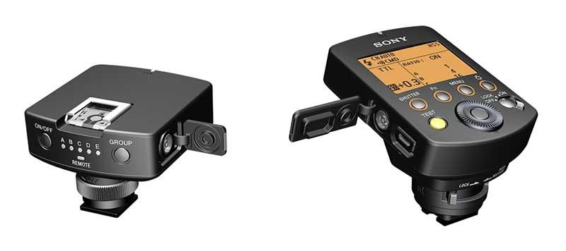 Sony α rádióvezérelt világítási rendszer FA-WRC1M vezeték nélküli rádióadó, FA-WRR1 vezeték nélküli rádióvevő