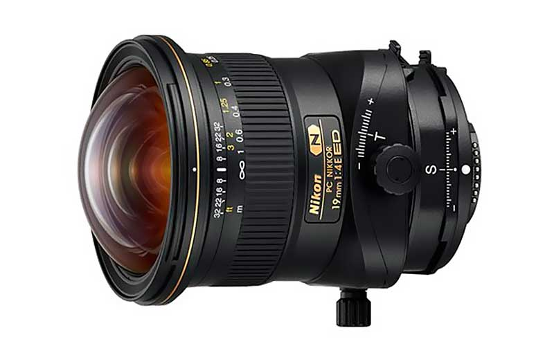 PC Nikkor 19 mm f/4E ED objektív