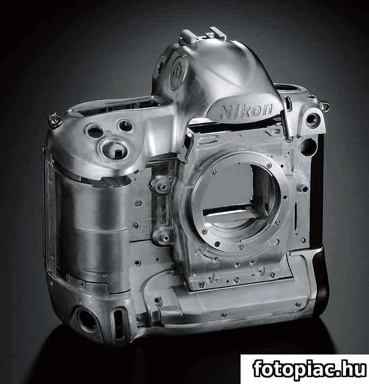 A digitális fényképezőgép működési elve és részei