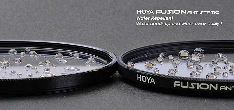 Hoya fotográfiai szűrő Fusion antisztatikus családja taszítja a port és a vizet, véd a szennyeződésektől és javítja a képminőséget
