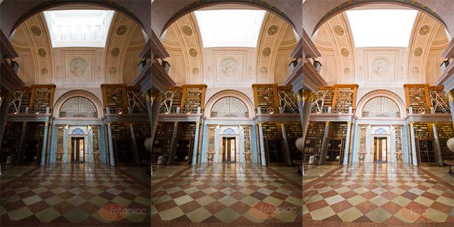 HDR technika kiindulópontja az eltérően exponált három fénykép